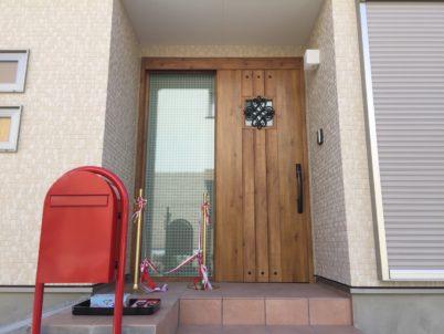 新築実例 玄関